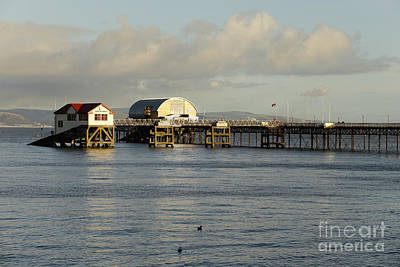 Photograph - Mumbles Lifeboat Sheds by Paul Cowan