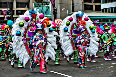 Mummer Color Art Print by Alice Gipson