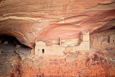 Mummy Cave Ruins In Canyon De Chelly Art Print