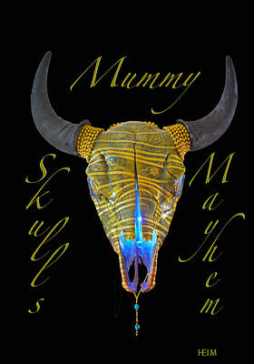 Mixed Media - Mummy by Mayhem Mediums