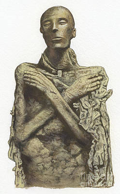 Photograph - Mummy Of King Seti I by Dorling Kindersley