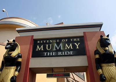 Photograph - Mummy The Ride by David Nicholls