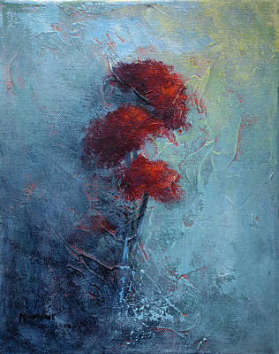 Painting - Mums by Bob Pennycook