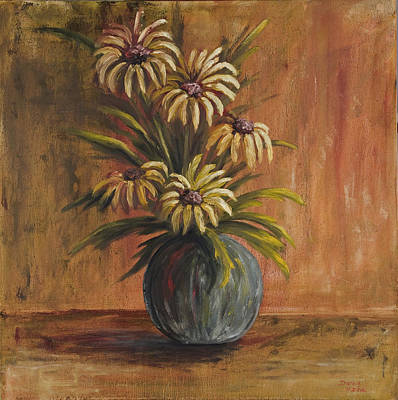 Painting - Mums For Mom by Darice Machel McGuire