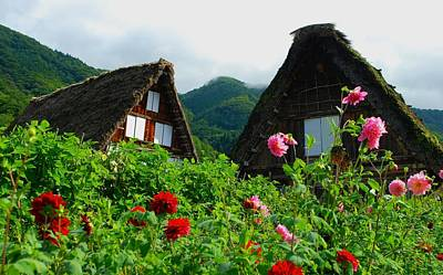 Japan Village Photograph - Mum's The Word by Aaron Bedell