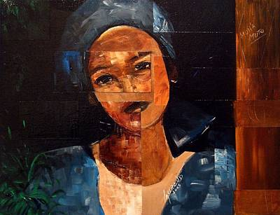 Painting - Muna Muto by Laurend Doumba