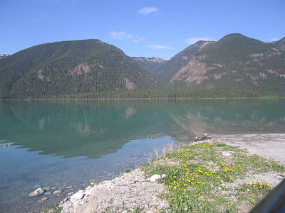 Photograph - Muncho Lake by Betty-Anne McDonald