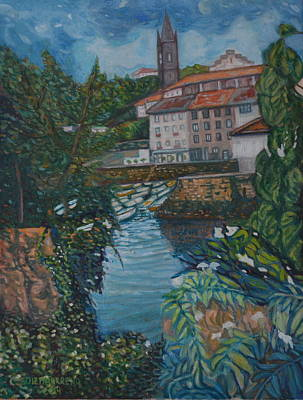 Painting - Mundaka by Enrique Ojembarrena