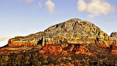 Photograph - Munds Mountain Sedona by Bob and Nadine Johnston