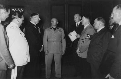 Goering Photograph - Munich Conference. Sept. 29, 1938 by Everett