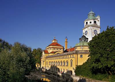 Public Bathing Photograph - Munich - Mueller'sches Volksbad - Au-haidhausen by Christine Till