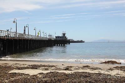 Municipal Wharf At The Santa Cruz Beach Boardwalk California 5d23766 Art Print