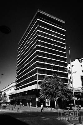 City Council Photograph - municipalidad de Santiago santiago city council offices Chile by Joe Fox