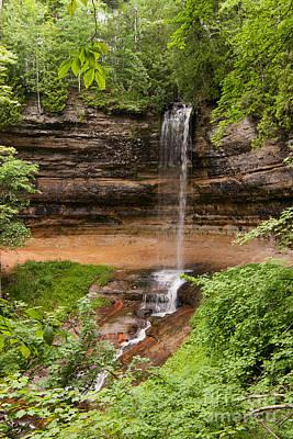 Photograph - Munising Falls #2 by Paul Rebmann