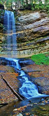 Photograph - Munising Falls by Burland McCormick