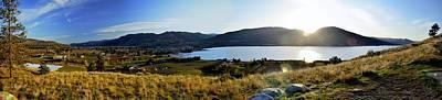 Photograph - Munson Mountain Panorama 04-18-2014 by Guy Hoffman