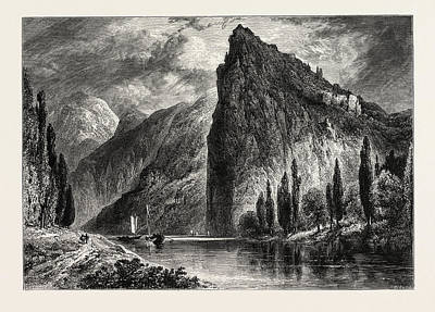 Munster-am-stein, Germany Art Print