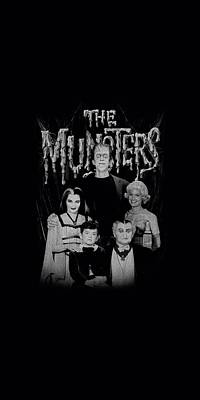 Monster Digital Art - Munsters - Family Portrait by Brand A