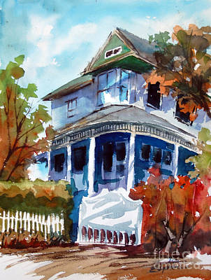 Munzesheimer Manor B B Mineola Tx Art Print by Ron Stephens