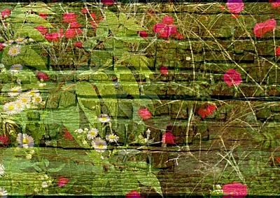 Photograph - Mur De Fleurs    Wall Of Flowers by Rick Todaro