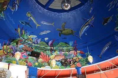 Mural Photograph - mural Decks  by Carey Chen