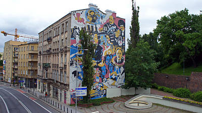 Photograph - Mural by Kees Colijn