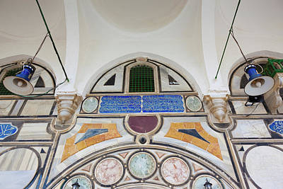 Mural Photograph - Mural On The Wall Of A Mosque by Panoramic Images