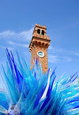 Installation Art Photograph - Murano Clock Tower by Valentino Visentini