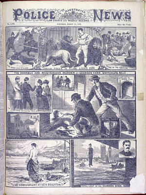 Murder At George's Yard Art Print