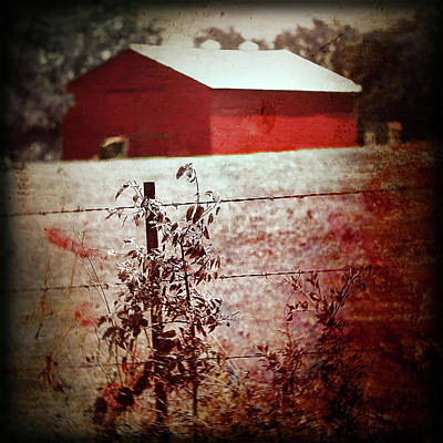 Murder In The Red Barn Art Print by Trish Mistric