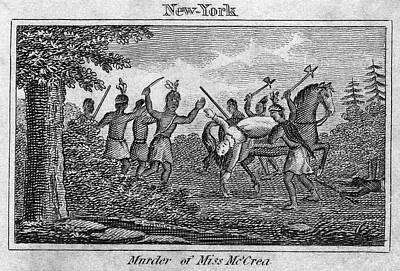 American Revolution Painting - Murder Of Jane Mccrea, 1777 by Granger
