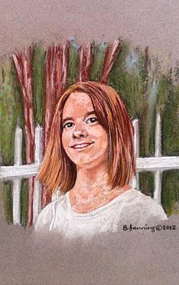Painting - Muriel June 2012 by Brenda Stevens Fanning
