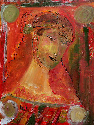 Painting - Muriel by Oscar Penalber