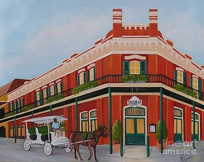 Horse And Buggy Painting - Muriels by Valerie Carpenter