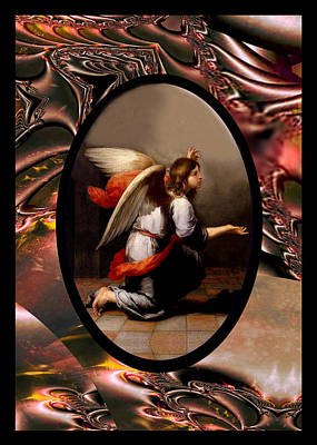 Photograph - Murillo Vintage Angel by Robert Kernodle
