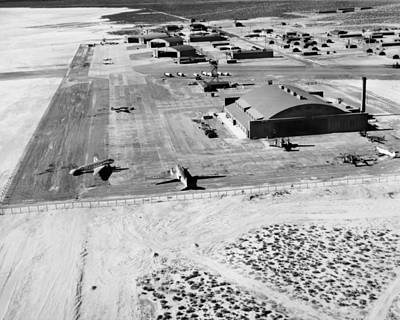 Muroc Flight Test Base, 1945 Art Print by Science Photo Library