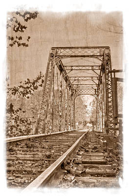 Murphy Trestle Art Print by Debra and Dave Vanderlaan