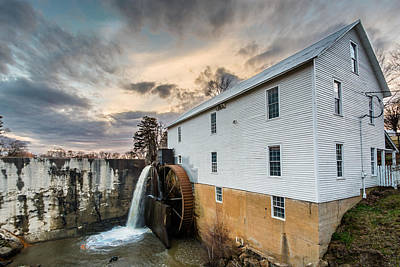 Photograph - Murray's Mill by Randy Scherkenbach