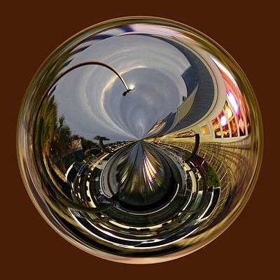 Murrells Inlet Orb Art Print by Paulette Thomas