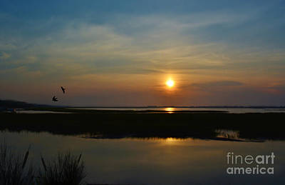 Murrells Inlet Sunrise Art Print