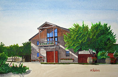 Murrietas Well Winery Art Print by Mike Robles