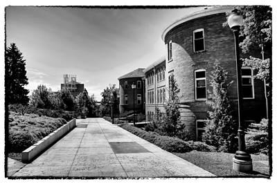 Photograph - Murrow Complex East - Washington State University by David Patterson