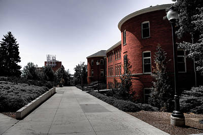 Photograph - Murrow Complex - Washington State University by David Patterson