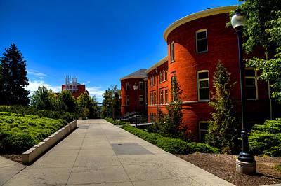 Photograph - Murrow Hall - Washington State University by David Patterson