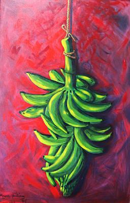 Puerto Rico Painting - Musa Apasionada by Mayra  Martinez