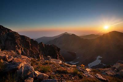 Photograph - Musala Sunrise  by Svetoslav Sokolov