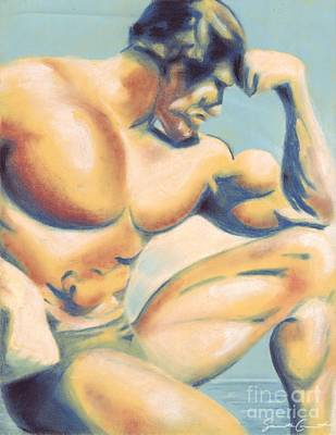 Pastel - Muscle Beach by Samantha Geernaert