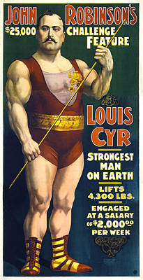 Digital Art - Muscle Man by Gary Grayson
