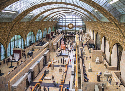 Digital Art - Musee D Orsay by Liz Leyden