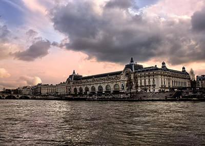 Photograph - Musee De Orsay Paris by Radoslav Nedelchev